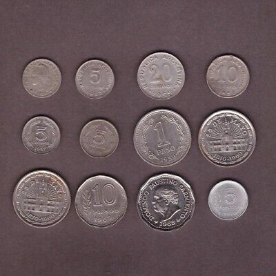 Argentina Coin Collection - Lot # X-17 - World/Foreign/South America
