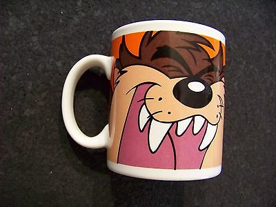 Warner Bros. Looney Tunes Tazmanian Devil porcelain coffee mug cup Taz