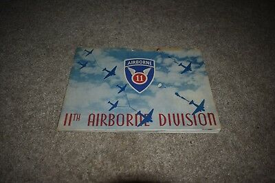 11th Airborne Division Camp Polk, LA 1943 yearbook US Army WW2