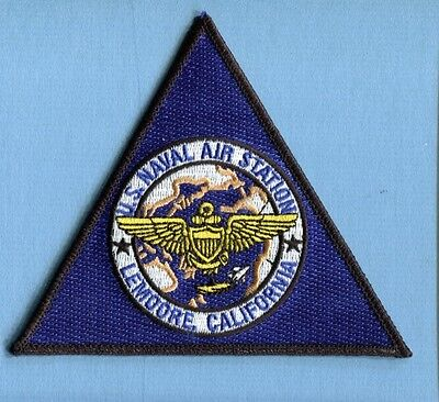 NAS NAVAL AIR STATION LEMOORE CA US Navy Base Fighter Squadron Jacket Patch