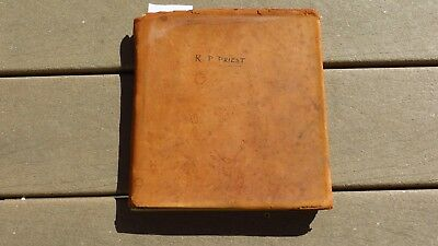 WW2 British RAF Royal Air Force Pilots Flying Aviator Log Book 1939 216th Sqdrn