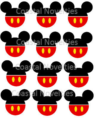 ANY CHARACTER OR Disney Mickey Mouse Minnie Mouse Edible ...