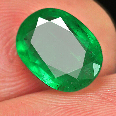 1.5Ct 100% Natural Museum Grade Green Emerald Collection QMD3473