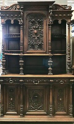 antique furniture hand-carved French buffets/sideboards