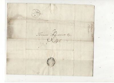 1820 Stampless Folded Letter From Charles Butler Of England, Ref: Opinion