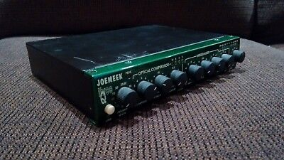 Joemeek threeQ recording channel strip preamp compressor equalizer (1 of 2)