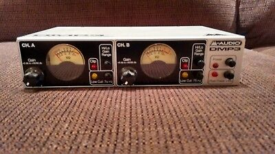 M-Audio DMP3 clean dual channel microphone preamp (1 of 2)