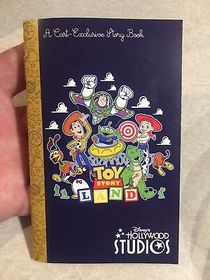 New Toy Storyland Cast Exclusive Story Book Walt Disney World Hollywood Studios