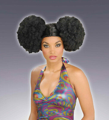 Afro Puff Costume Wig Adult Women