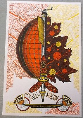 The Swell Season Ltd Signed & Numbered Screen Print 2010 Tour Poster [Gaspard]