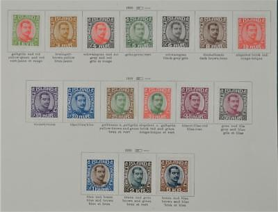 Iceland 16 Early Stamps  1920 To 5 Kr. H/m   (S9)