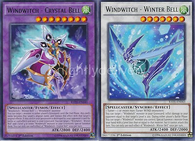 Windwitch Budget Deck - Glass Ball - Crystal Bell - Snow Bell -  42 Cards -NM