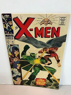 * Marvel Comics X-Men Issue 29 The Super Adaptoid Strikes