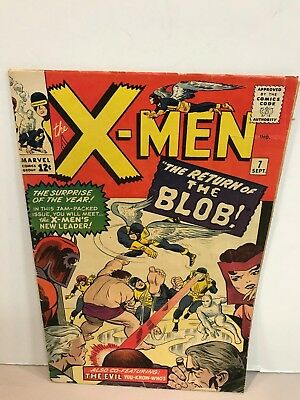 * Marvel Comics X-Men Issue 7 The Return of The Blob
