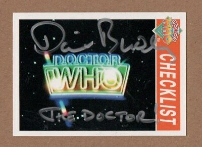 Dr Who Signed Cornerstone Card 223 By David Bradley[The Doctor]