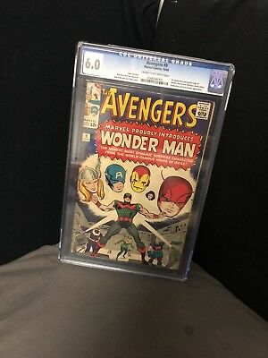 The Avengers 9 (vol 1) 6.0 CGC First Wonder Man Key Comic Silver Age 1 Book Lot