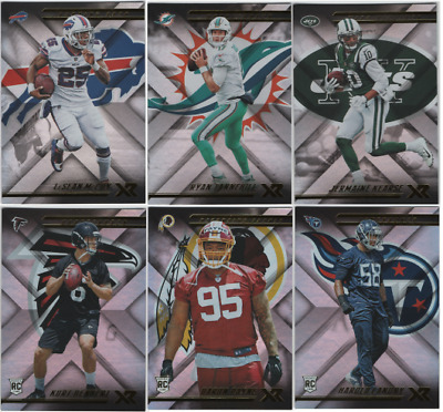 2018 Panini XR Football - Base Set and Rookie Cards - Choose From Card #'s 1-160