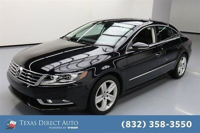 2015 Volkswagen CC Sport Texas Direct Auto 2015 Sport Used Turbo 2L I4 16V Automatic FWD Sedan Premium