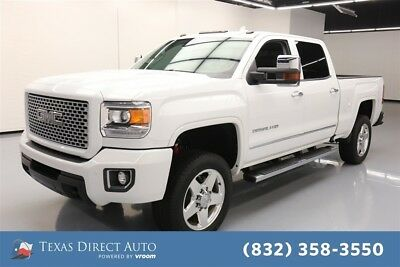 2016 GMC Sierra 2500 Denali Texas Direct Auto 2016 Denali Used Turbo 6.6L V8 32V Automatic 4WD Pickup Truck