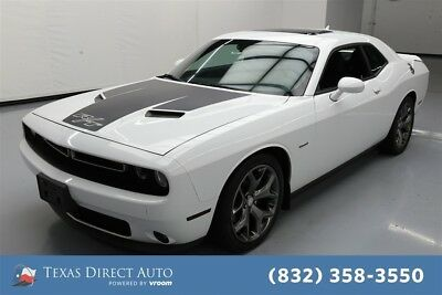 2015 Dodge Challenger R/T Texas Direct Auto 2015 R/T Used 5.7L V8 16V Automatic RWD Coupe Moonroof Premium