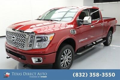 2016 Nissan Titan Platinum Reserve Texas Direct Auto 2016 Platinum Reserve Used Turbo 5L V8 32V Automatic 4WD