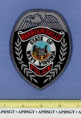 BARBOURSVILLE WEST VIRGINIA Sheriff Police Patch STATE SEAL