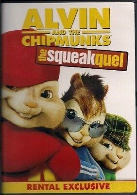 Alvin And The Chipmunks: The Squeakquel (2009) (DVD, 2010)