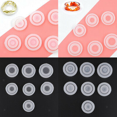 14pcs Silicone Ring Mould Epoxy Resin Casting for DIY Jewelry Making Craft