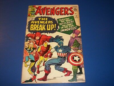 Avengers #10 Silver Age 1st Immortus Key Wow Solid Book