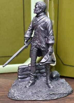 1976 The Fighting Men Of The American Revolution Militiaman The Franklin Mint