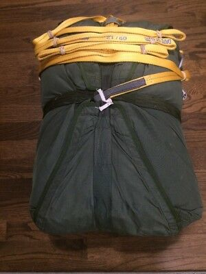 MC1-1 Personnel Parachute, 35 Ft Main, Harness, Pack Tray, D-Bag, Static Line...