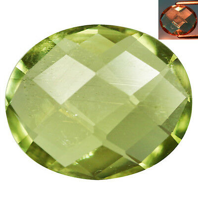 3.05Ct Extreme Oval Cut 11 x 9 mm AAA Color Change Turkish Diaspore