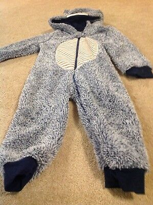 Lovely Boys All In One Snuggly Outfit 18-24 Months. Early Days