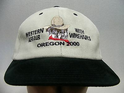 Western Affair With Wirehairs - Oregon 2000 - Adjustable Snapback Ball Cap Hat!