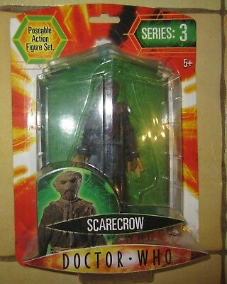 Doctor Dr Who - Scarecrow Series 3 Brand New & Sealed Figure