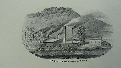 1880's Moore Mining and Smelting Company Advertising Card,Golden, Colorado.