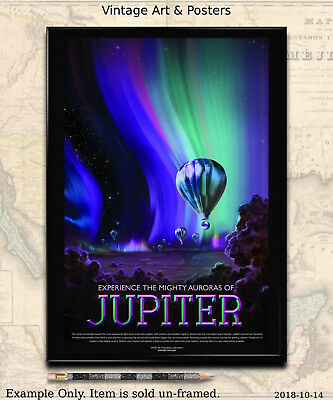 NASA JPL SPACE Tourism Poster - Visions of the Future Space