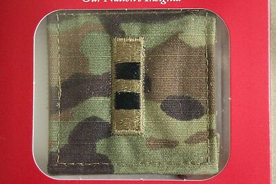 Us Army Gi Multicam Ocp W-2 Cw2 Hook Back Camouflage Camo Uniform Rank Patch