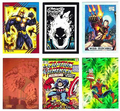 MARVEL MIXED INSERT LOT #3--Lot of 31 Inserts/Spidey, Ghost Rider, Avengers+****