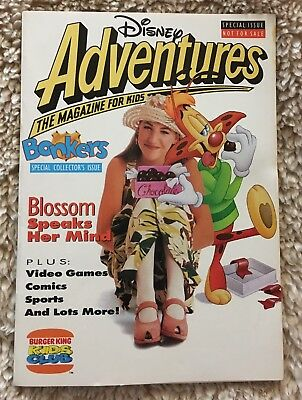 Disney Adventures Magazine For Kids Burger King Kids Club With Blossom