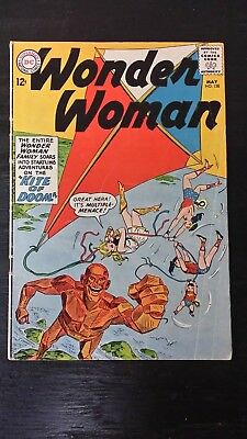 1963 Dc Comics Wonder Woman #138 Vg  Flat Rate Shipping