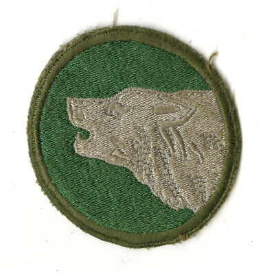 Wwii Original 104Th Infantry Division White Back Patch Europe Germany