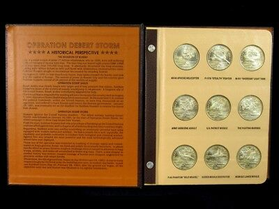 World's First Desert Storm Coin Collection - Complete 45pc Set - Great Condition