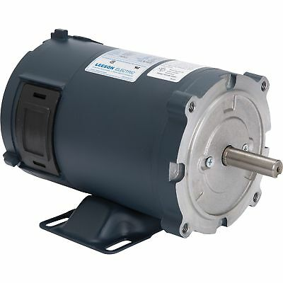 Leeson 12 Volt DC Motor - 1/3 HP, 1750 RPM, 27 Amps, Model# 108046
