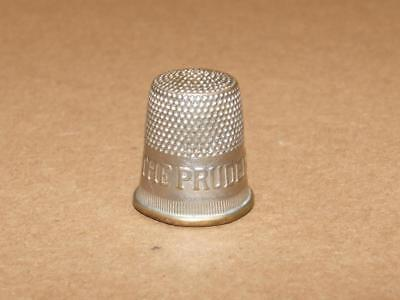 Vintage Advertising Thimble THE PRUDENTIAL LIFE INSURANCE