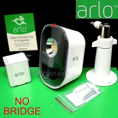 NEW ARLO SECURITY LIGHT ADD-ON Netgear Smart Pro WireFree Home NO BRIDGE ALS1101