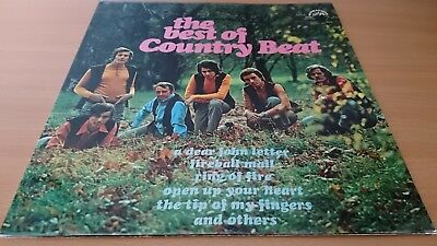 COUNTRY The best of Country Beat Vinyl LP Schallplatte  von 1971