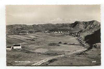 Scourie - The Village - c1960's Sutherland real photo postcard