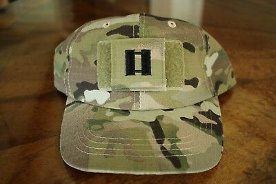 Us Army Gi Multicam Ocp Bdu O-3 Cpt Camouflage Combat Ballcap Ball Cap Hat