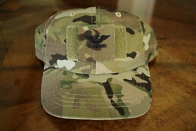Us Army Gi Multicam Ocp Bdu O-6 Col Camouflage Combat Ballcap Ball Cap Hat